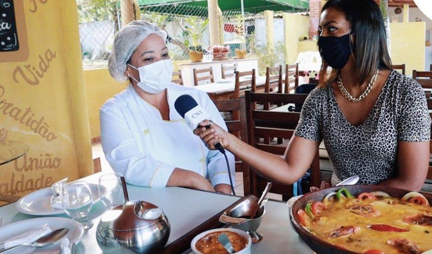 [Restaurante Recanto das Águias oferece delícias da culinária regional]