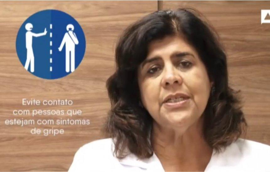 [Vídeo: Médica infectologista tira dúvidas sobre coronavírus]