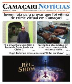 [Edição 198 do jornal impresso Camaçari Notícias traz reportagem exclusiva sobre crime virtual]