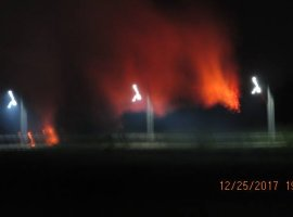 [Morador fotografa incêndio no Morro da Manteiga]