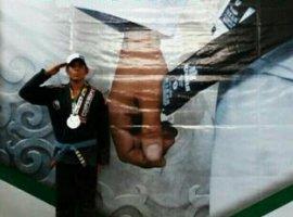 [Soldado da PM de Valença é vice-campeão brasileiro de jiu-jitsu]
