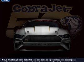 [Ford anuncia edição limitada do Mustang Cobra Jet comemorativa de 50 anos]
