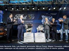 [Ford comemora 50 anos da fábrica de Taubaté e inicia a produção local]