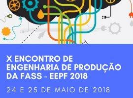 [X Encontro de Engenharia de Produção da FASS/UNIFASS acontece 24 e 25 de Maio]