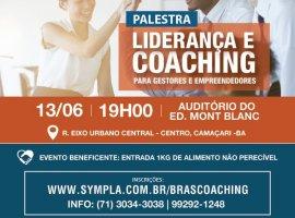 [Evento beneficente em Camaçari com a palestra Liderança e Coaching]