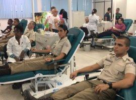 [Mais de 600 PMs doam sangue no Dia Mundial do Doador]
