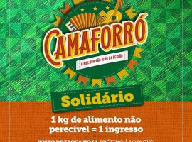 [Boulevard Shopping Camaçari recebe posto de troca do Camaforró Solidário]