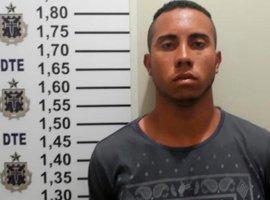 [Suspeito de atirar a esmo e matar jovem durante festa é preso em Porções]