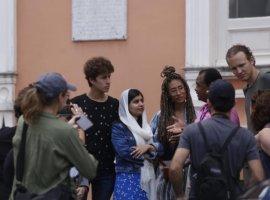 [Prêmio Nobel da Paz, Malala visita o Pelourinho e cumpre agenda em Salvador]