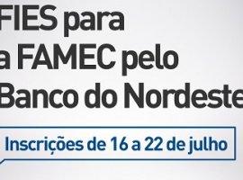[Banco do Nordeste oferece FIES 100% para a FAMEC – Inscreva-se já!]