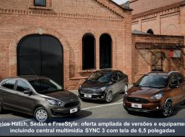 [Ford ka 2019 chega reestilizado, + equipado, com novo motor e câmbio automático]