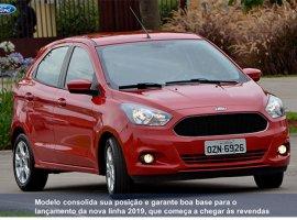 [Ford Ka cresce 22% em julho e mantém a vice-liderança do mercado]