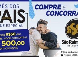 [Mês dos Pais Relojoaria São Raimundo : Compre e concorra !]