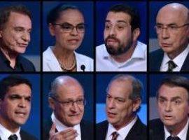 [Em debate morno, candidatos evitam confrontos]