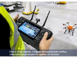 [Uso de Drones elimina riscos de trabalho em altura em fábrica da Ford]