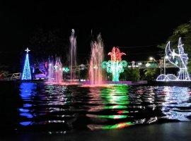 [Algumas imagens da decoração de natal de Camaçari]