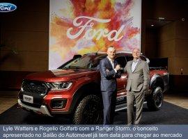 [Ford apresenta balanço do ano e anuncia o lançamento da Ranger Storm]