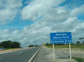 [Vídeo mostra a avenida Herry Ford em Camaçari totalmente recuperada]