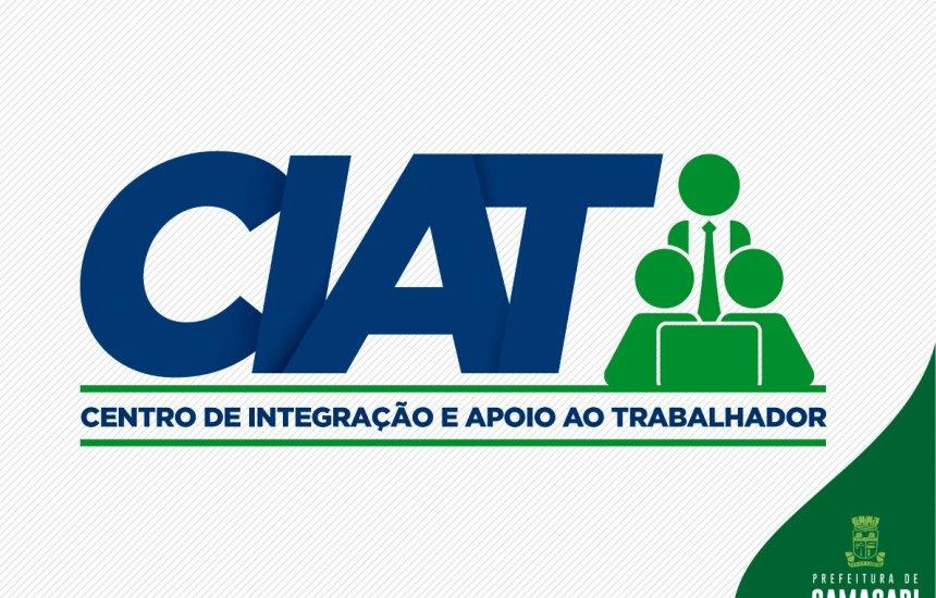 [Confira as vagas de emprego oferecidas pelo CIAT]