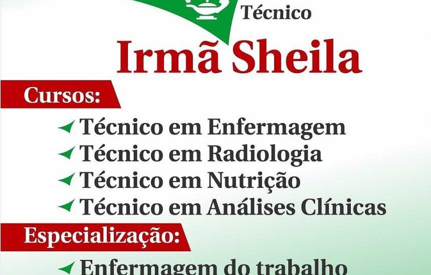 [Quer fazer curso na área de Saúde ? Entre em contato com a Escola Irmã Sheila !]