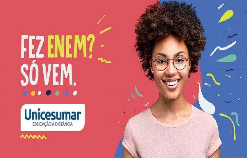 [Enem:A Faculdade Unicesumar em Dias Dávila e Camaçari oferece bolsas de até 100%]