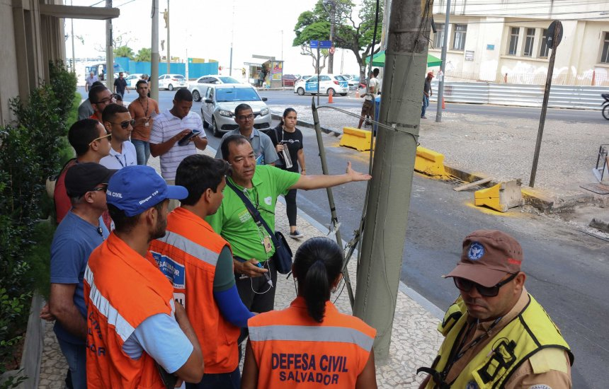 [Codesal realiza vistoria preventiva nos circuitos do Carnaval]