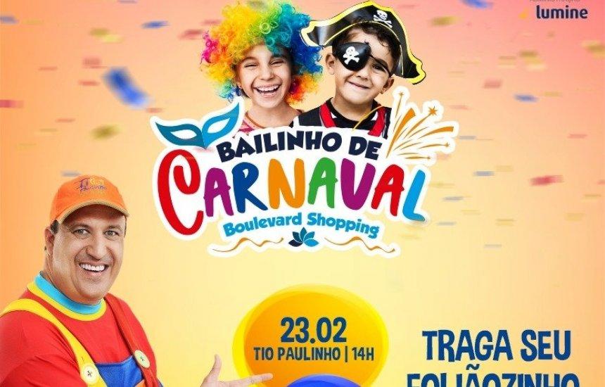 [Clima de Carnaval invade o Boulevard Shopping Camaçari]