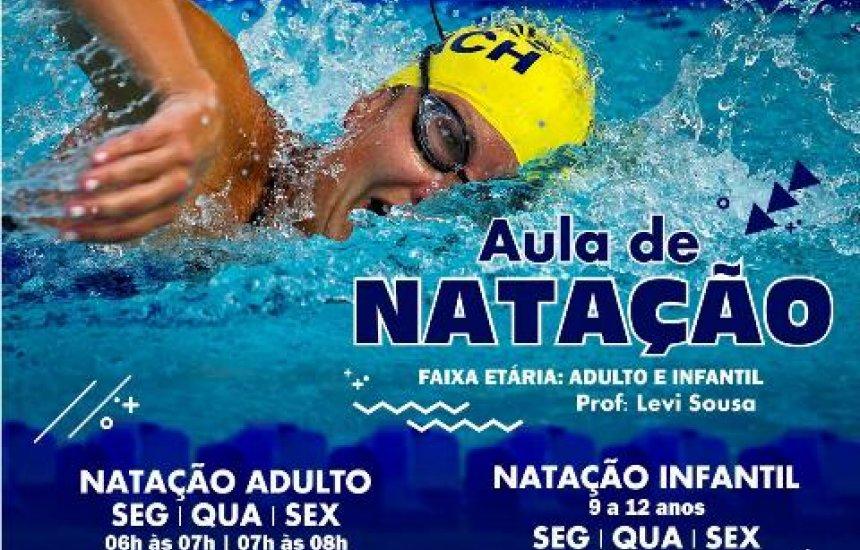 Inscrições para curso de natação da Cidade do Saber começam na próxima semana