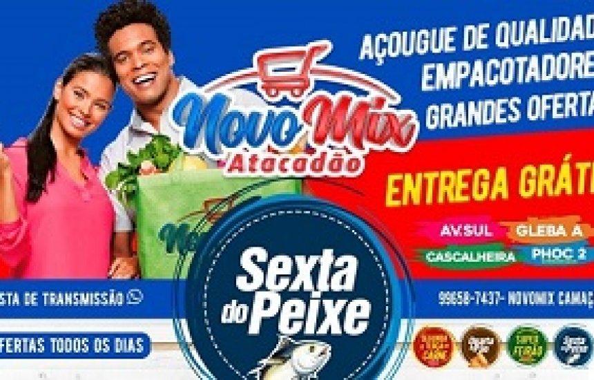 [Carnaval Novo Mix Camaçari : Quarta á Domingo SUPER FEIRÃO de frutas e verduras]