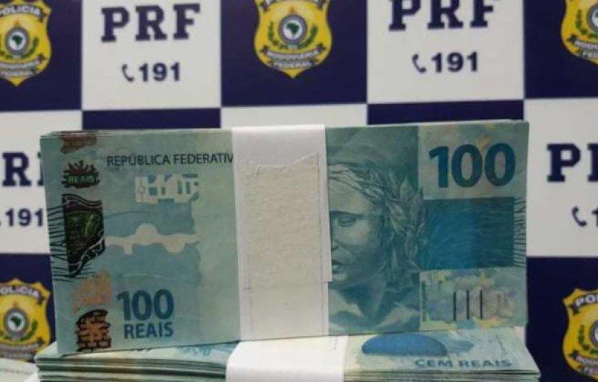 [Homem é preso com mais de R$ 231 mil em notas falsas]
