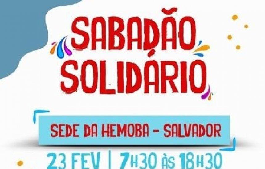 [Hemoba realiza último Sabadão Solidário antes do Carnaval]