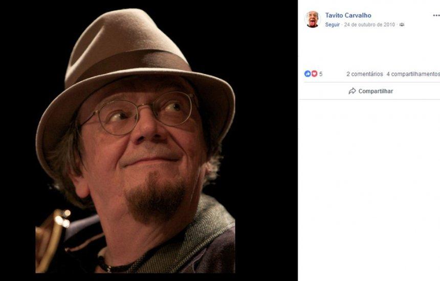 [Morre aos 71 anos o cantor e compositor Tavito Carvalho]
