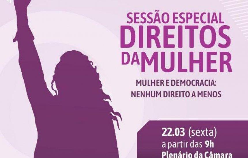[Mulher e Democracia será tema de Sessão Especial na Câmara de Camaçari]
