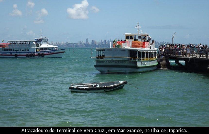 [Travessia Salvador-Mar Grande faz parada até às 11h30]