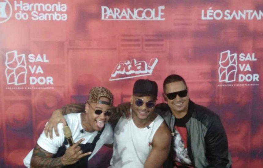 O Encontro entre Léo, Harmonia e Parangolé vai virar DVD