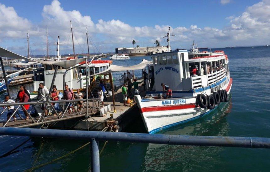 [Travessia Salvador-Mar Grande opera hoje até às 18h30]