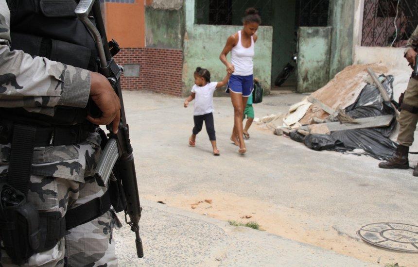 [Policial militar atira em colega durante ação na Calçada]
