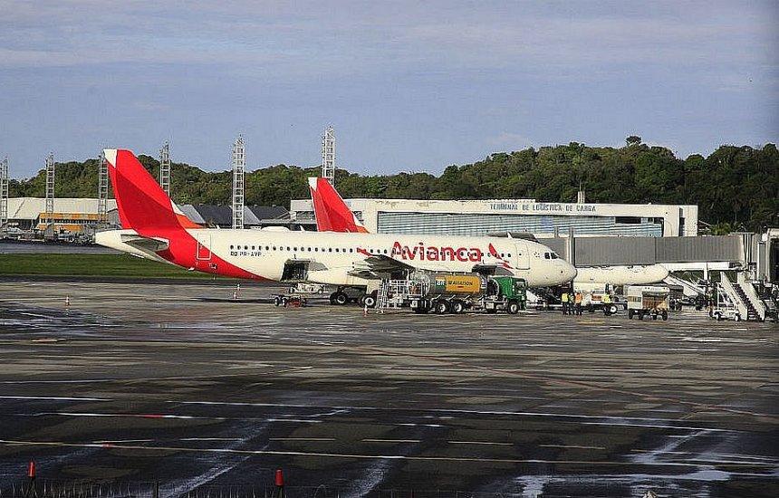 [Avianca cancela 210 voos em Salvador até terça-feira (14)]