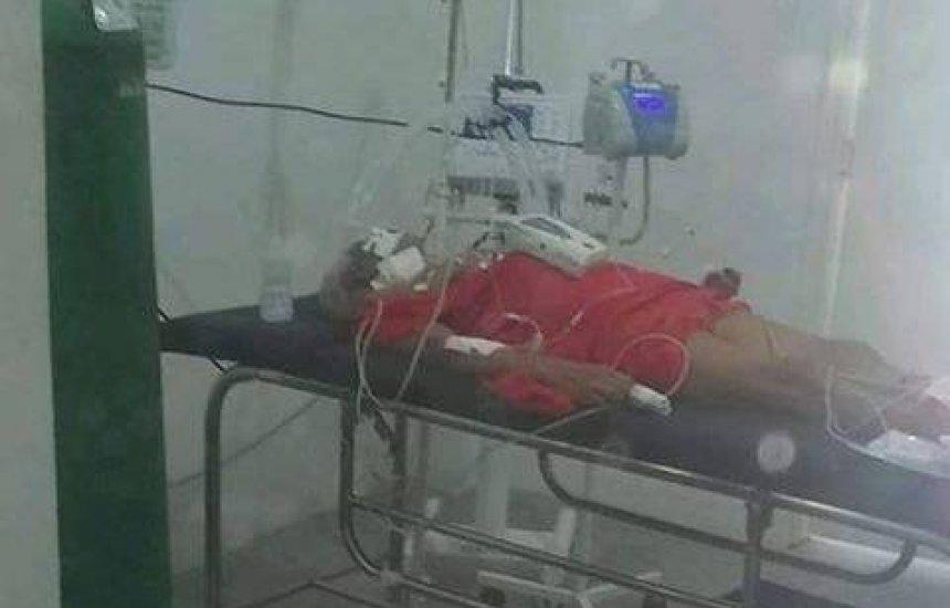 [Idosa internada na UPA de Abrantes precisa de vaga em UTI com urgência]