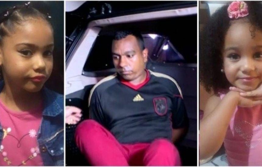 [Homem mata filha e enteada após suposta traição da esposa; ele foi preso]
