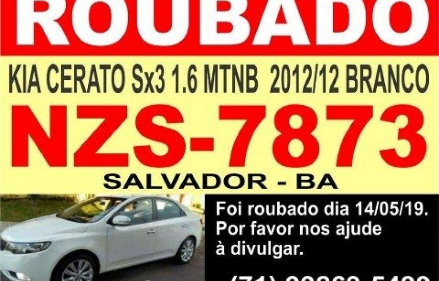 [Homem é ameaçado e tem carro roubado em Salvador]
