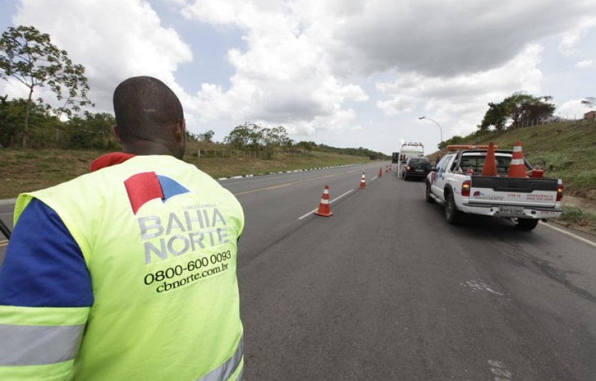 [Bahia Norte informa a semana de obras no Sistema BA-093]