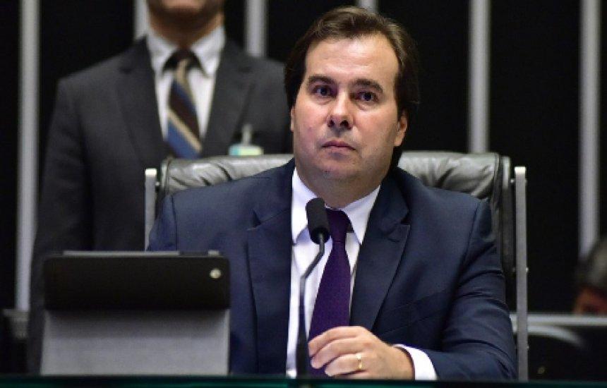 [Maia afirma que estados e municípios vão ficar de fora de relatório da reforma]
