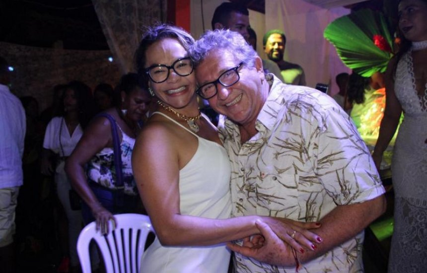 Social: enlace matrimonial de Ivoneide Souza e Luiz Caetano
