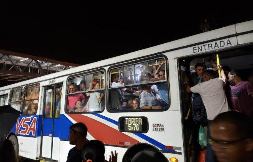 [Leitor denuncia superlotação em ônibus de Camaçari: 'Tragédia anunciada']