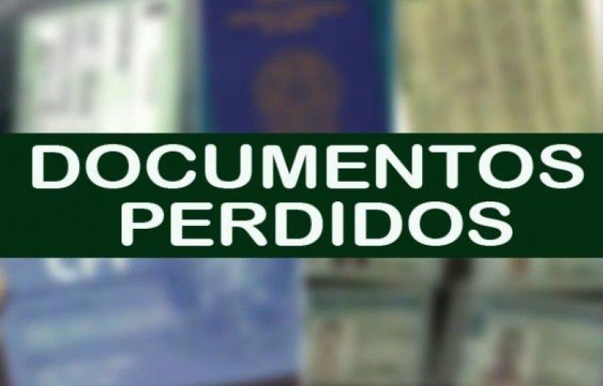 [Documentos perdidos em carro entre Camaçari e Dias D'Ávila]