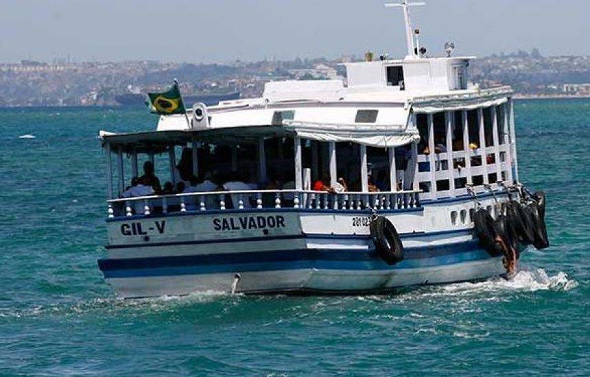 [Travessia Salvador-Mar Grande será retomada às 11h após maré baixa]