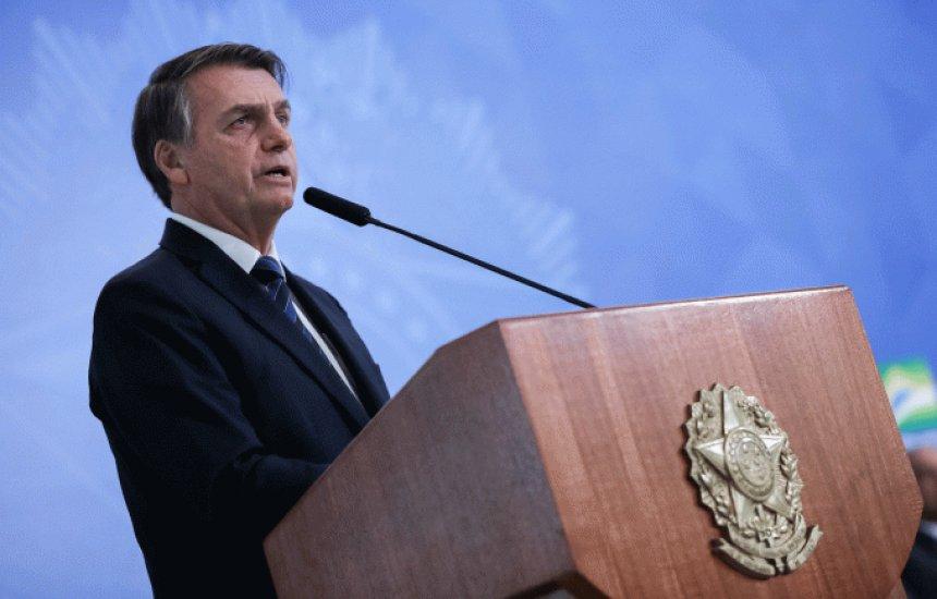 [Bolsonaro fala em reeleição e em entregar Brasil melhor em 2026]