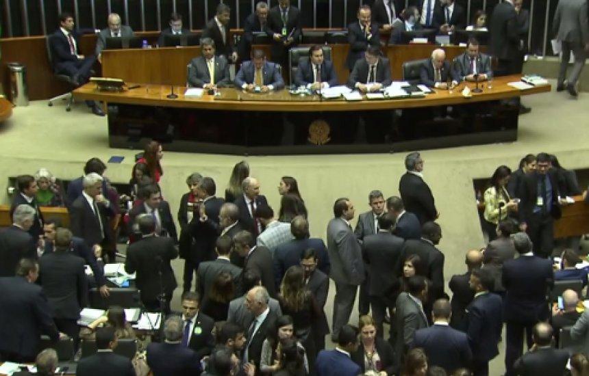 [Deputados tentam concluir hoje votação em 1º turno da reforma da Previdência]