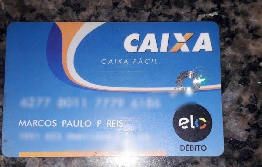 [Cartão da Caixa é encontrado no bairro Camaçari de Dentro]